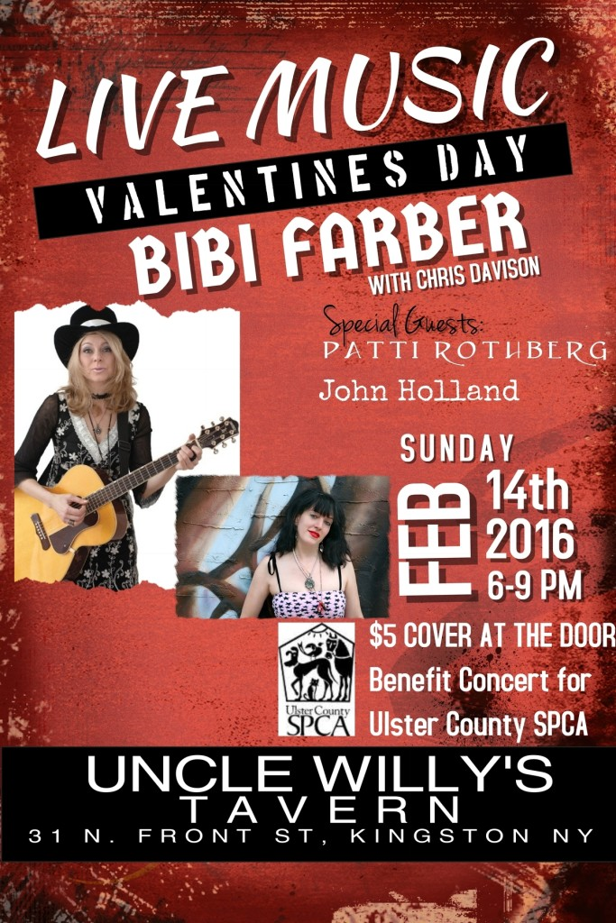 Valentine's Day Benefit Concert! @ Uncle Willy's Tavern | Kingston | New York | United States