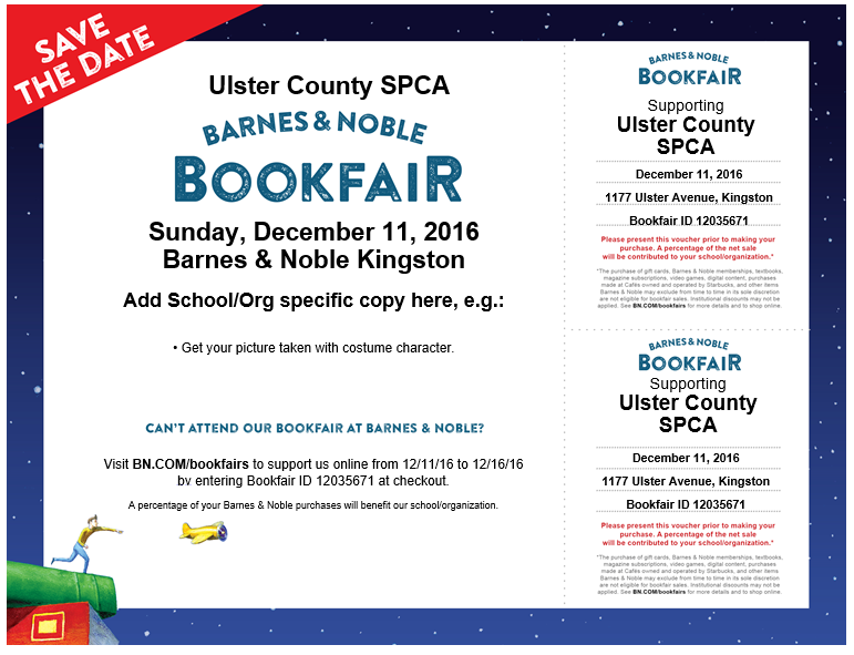 Barnes & Noble Bookfair & Wrapping @ Barnes & Noble | Kingston | New York | United States