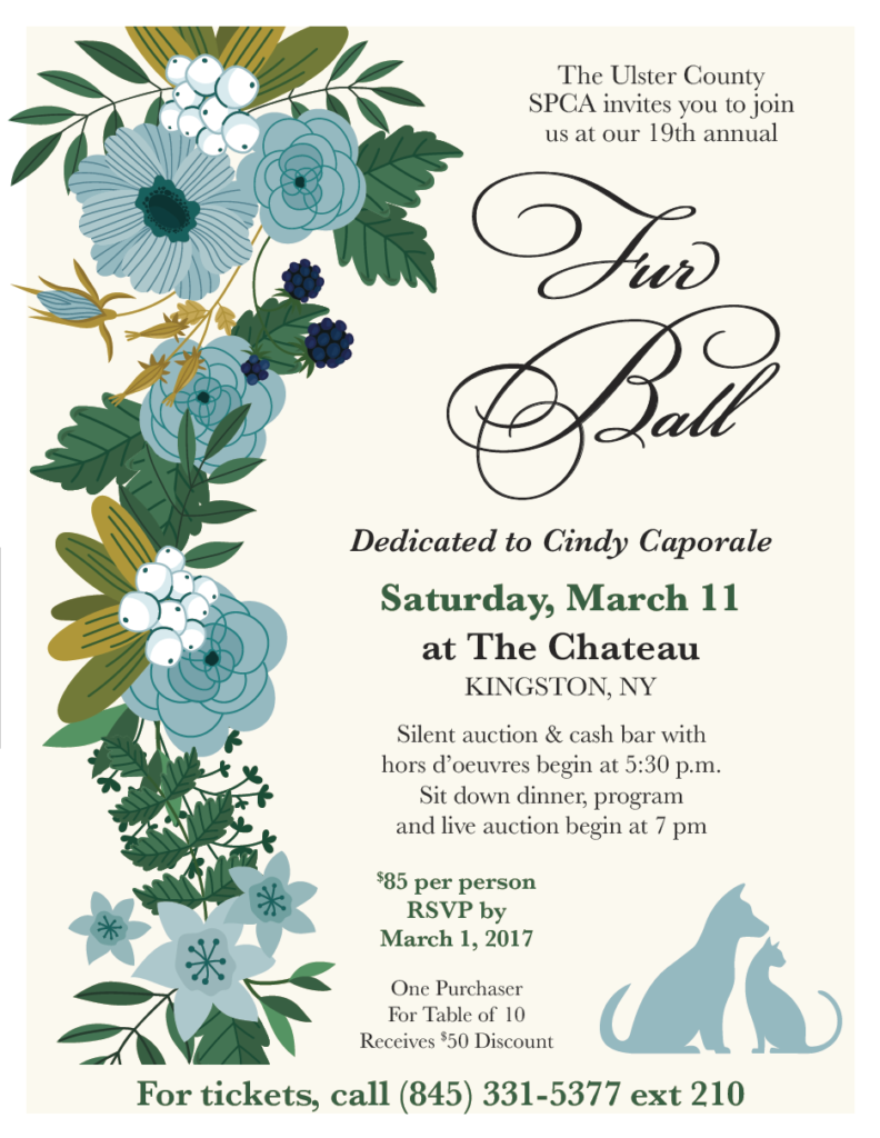 19th Annual Fur Ball @ The Chateau | Kingston | New York | United States